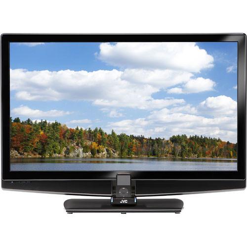 "JVC LT-42P789  42"" 1080p  LCD HDTV w/ Teledock for iPod"
