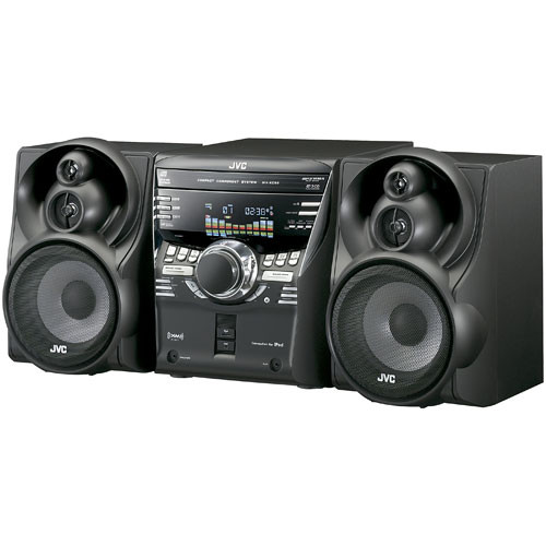JVC MX-KC58 400W 3CD Compact Component System with iPod Dock