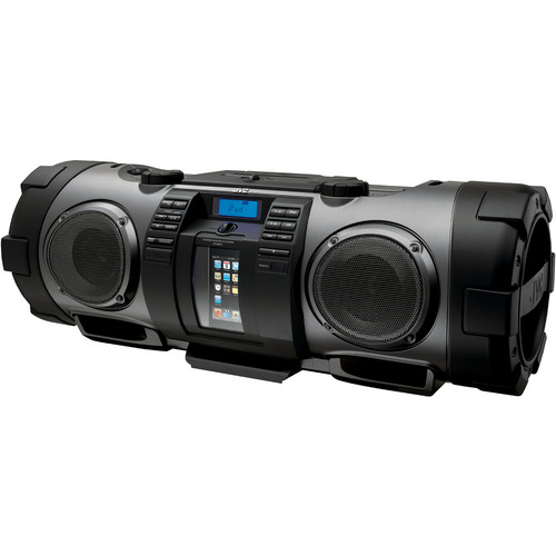 "JVC RV-NB70B ""Kaboom"" Portable Boom Box (Black)"