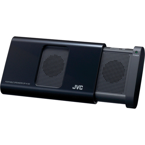 JVC SP-A130 Portable Color Matching Speakers for iPod nano 5G (Black)