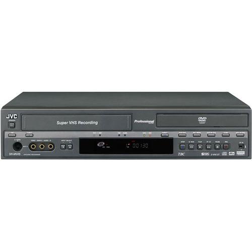 JVC SR-MV45US DVD-R & S-VHS/VHS Recorder