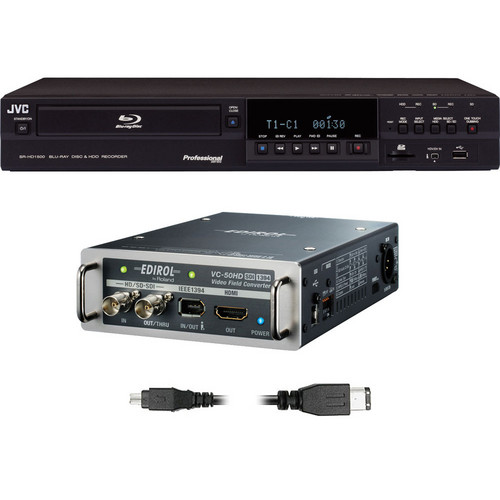 JVC SR-HD1500 HD-SDI Converter/Recorder Kit