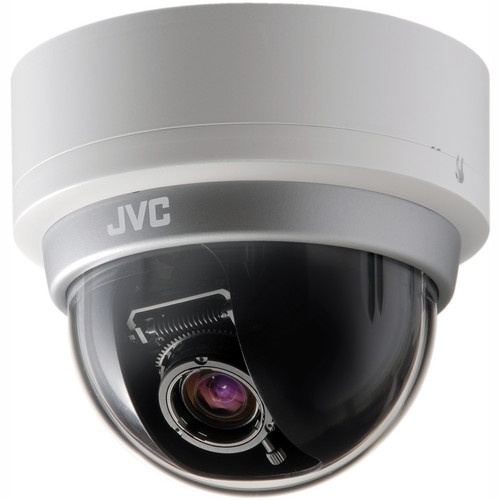 "JVC Vandal Resistant 1/3"" CCD Fixed Dome Camera"