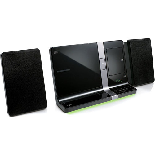 JVC UXVJ3B Shelf Audio System - Black