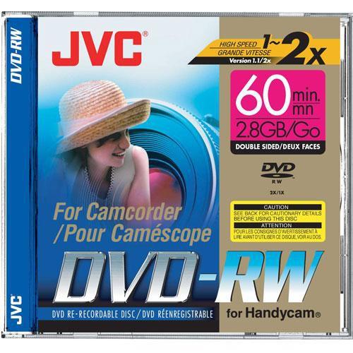 Jvc Vdw28du Mini Dvd Rw Disc 1 Vdw28du B Amp H Photo Video