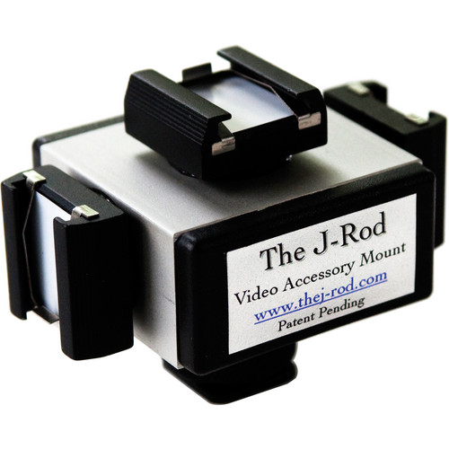 J-Rod The J-Cube Accessory Shoe Adapter & Mic Mount