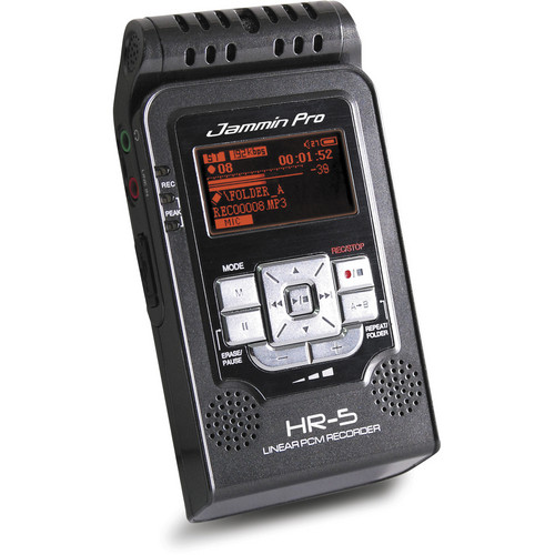 Jammin HR-5 Handheld Digital Audio Recorder