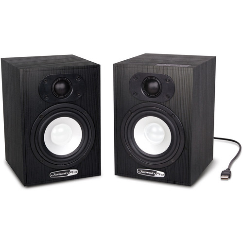 "Jammin NS-5 4"" 2-Way USB Studio Monitor Speakers (Pair)"