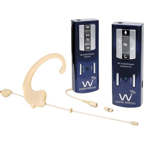 Wi Digital Wi AudioStream EL Portable Stereo Digital Wireless Mic System