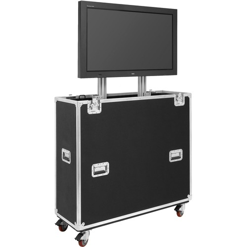 "JELCO EL-60 EZ-LIFT Shipping and Display Case for 55-65"" Flat-Screen Monitor"