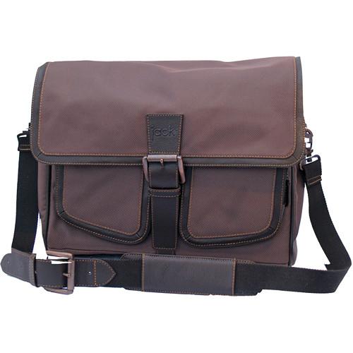 Jill-E Designs jack Small Messenger Bag (Brown)