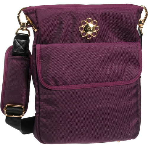 Jill-E Designs Potion Purple Swing Camera / Carry-All Bag