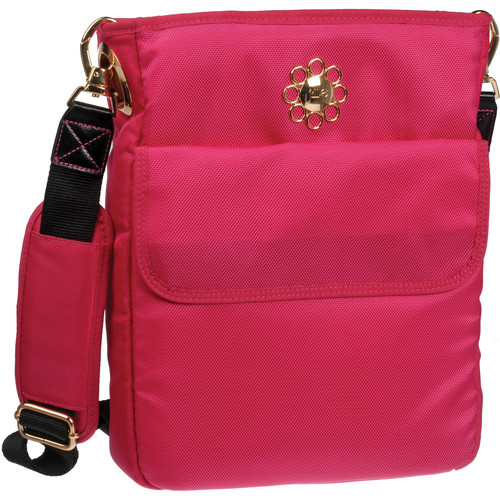 Jill-E Designs Passion Pink Swing Camera / Carry-All Bag