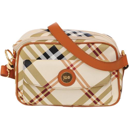 Jill-E Designs Essential Camera Bag (Tan Plaid)