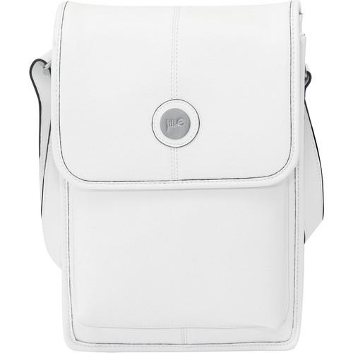 Jill-E Designs Metro Tablet Bag (White/Black Trim)