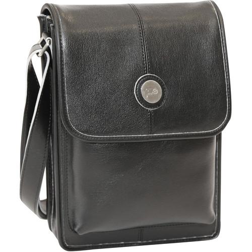 Jill-E Designs Metro Tablet Bag (Black/Silver Trim)