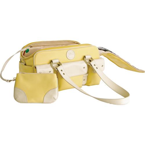 Jill-E Designs Small Camera Bag (Yellow with Cream Trim)