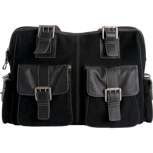 Jill-E Designs Large Rolling Camera Bag (Black)