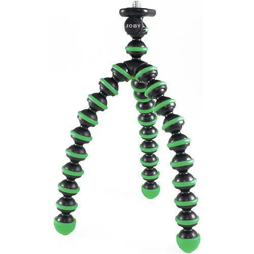 Joby Gorillapod Flexible Mini-Tripod/Grip for Point & Shoot Cameras - Green/Black