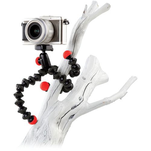 Joby GorillaPod Hybrid Flexible Mini-Tripod with Ball Head - Red/Black