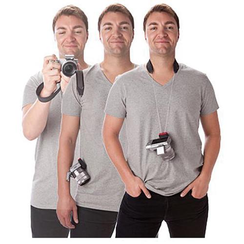 Joby Three-Way Camera Strap (Charcoal)