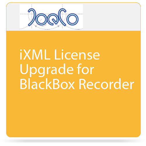 JoeCo iXML License Upgrade for BlackBox Recorder