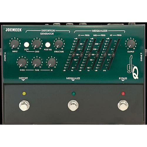 Joemeek GBQ Distortion, EQ and Enhancer Pedal for Guitar