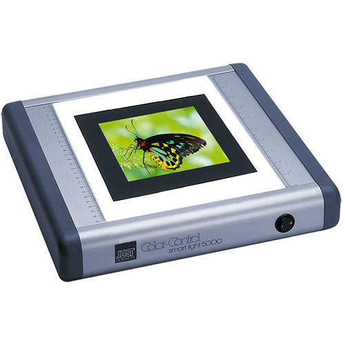 "Just Normlicht 14 x 15"" Smart Light 5000 Transparency Flat Viewer (Silver)"