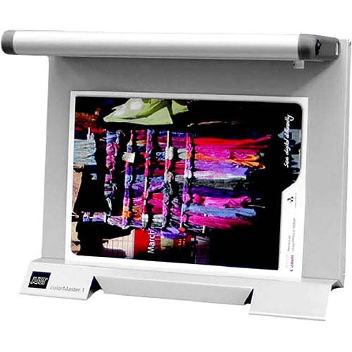 "Just Normlicht 91561  Color Master CM 1 Viewing System (19 x 13.5"", Metallic)"