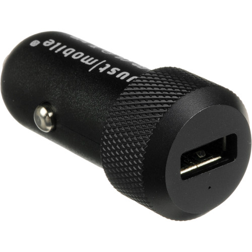 Just Mobile Highway In-Car Charger For iPhone / iPad / USB Devices (Black)