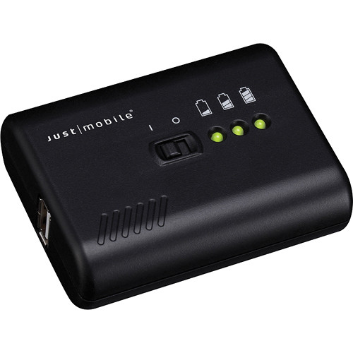 Just Mobile Gum Pro Battery Pack (Black)