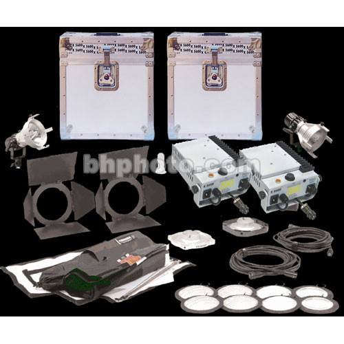 K 5600 Lighting Pair of Joker-Bug 200W HMI AC/DC Kit