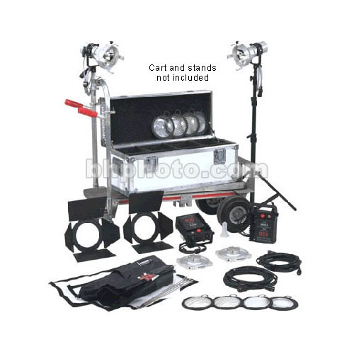 K 5600 Lighting Joker-Bug 400W HMI Pair - 2 Light, 1 Case Kit