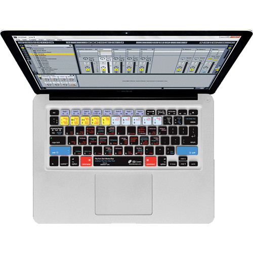 KB Covers Aperture Keyboard Cover for MacBook, MacBook Air & MacBook Pro (Unibody, Black Keys)