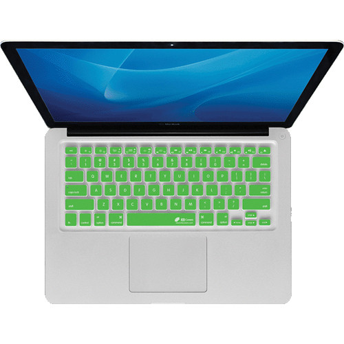 KB Covers Green Checkerboard (Clear With Green Buttons) Keyboard Cover