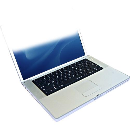 KB Covers Dvorak Keyboard Cover for MacBook Pro (Original Design) and Aluminum Powerbook Keyboard (Black)