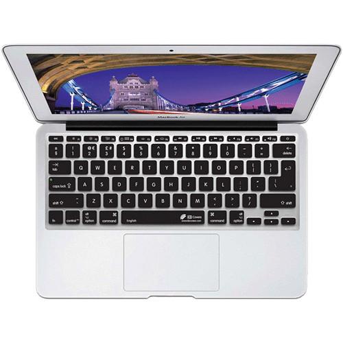 KB Covers English Keyboard Cover for MacBook Air 11-inch (Unibody, Black Keys)