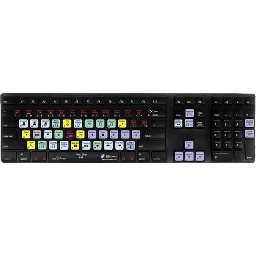 KB Covers Final Cut Pro X Keyboard Cover for Apple Keyboard/Apple Wireless Keyboard
