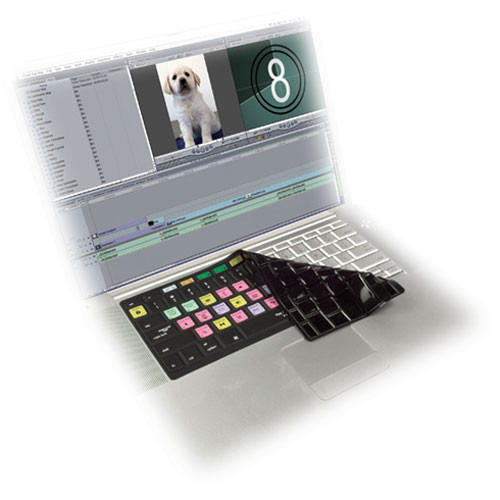 KB Covers Apple Final Cut Pro/Express Keyboard Cover (Black)