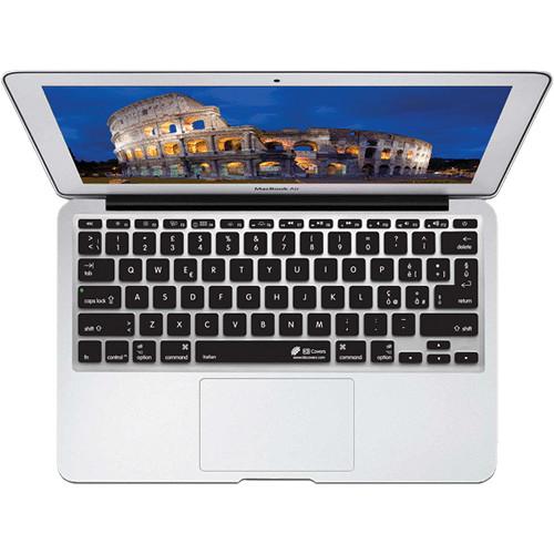 "KB Covers Italian Keyboard Cover for MacBook Air 11"" (Unibody, Black Keys)"