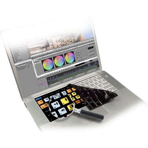 KB Covers Avid Media Composer Keyboard Cover (Black)