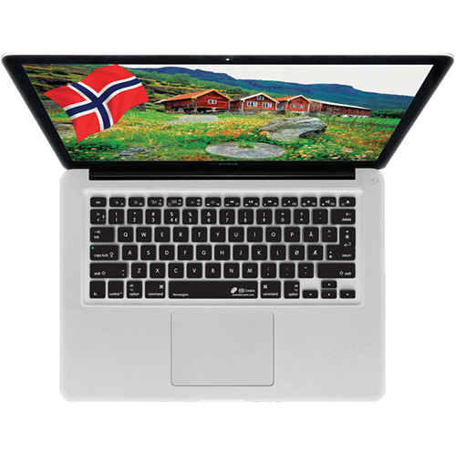 KB Covers Norwegian Keyboard Cover for MacBook, MacBook Air & MacBook Pro
