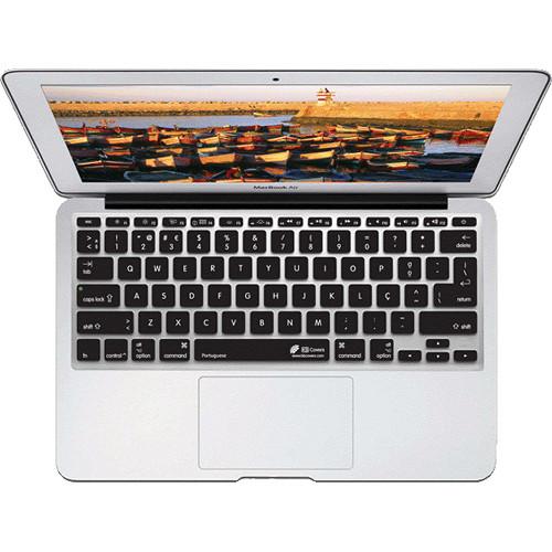 "KB Covers Portuguese Keyboard Cover for MacBook Air 11"" (Unibody, Black Keys)"
