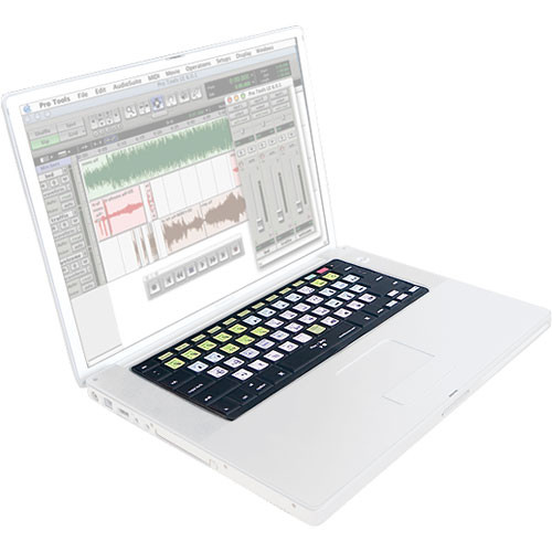KB Covers Digidesign Pro Tools Keyboard Cover (Black)