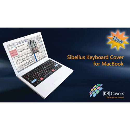 """KB Covers Sibelius Keyboard Cover for the 13.3"""" MacBook"""