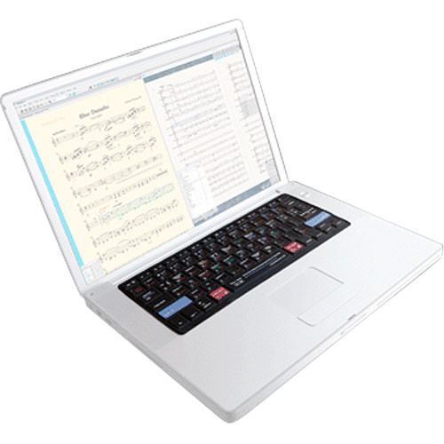 KB Covers Sibelius Keyboard Cover for the Powerbook & MacBook Pro