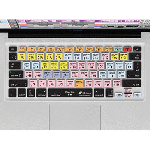 "KB Covers Pro Tools Keyboard Cover for MacBook, Unibody MacBook Pro, and 13"" MacBook Air"