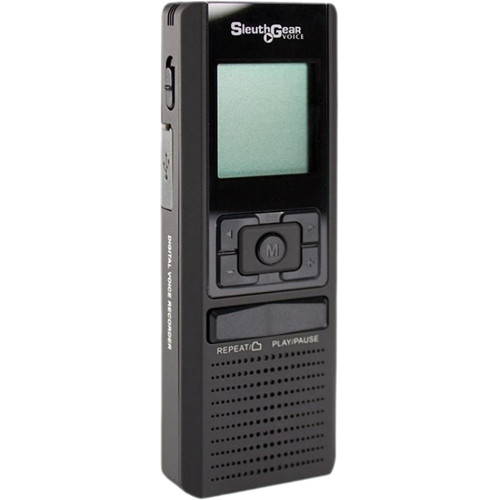 KJB Security Products D4002 SleuthGear Digital Recorder