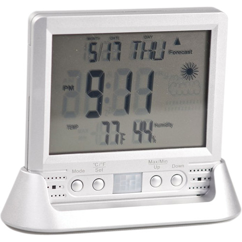 KJB Security Products Weather Clock Covert Camera