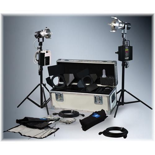 K 5600 Lighting Joker-Bug 200W/400W HMI 1 Case Combo News Kit (90-250/265VAC)